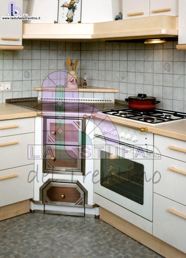 15 ad angolo stufa del trentino - Cucine in muratura economiche ...