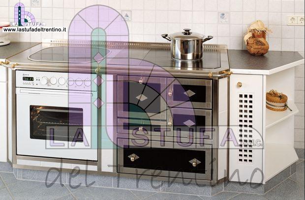 19 cucina combinata stufa del trentino - Stufe da cucina a legna ...