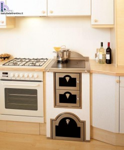 62-Cucina combinata | Stufa del Trentino