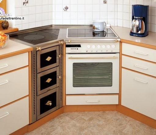 64-cucina combinata ad angolo | Stufa del Trentino
