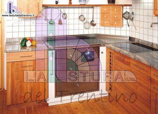Cucina Economica A Legna In Muratura.33 Cucina Ad Angolo Stufa Del Trentino