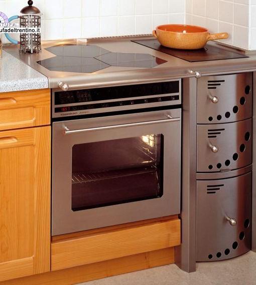 87 combinata stufa del trentino - Stufe a legna cucina ...