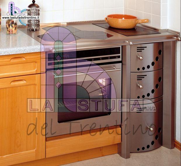87 combinata stufa del trentino - Cucina a legna usata ...