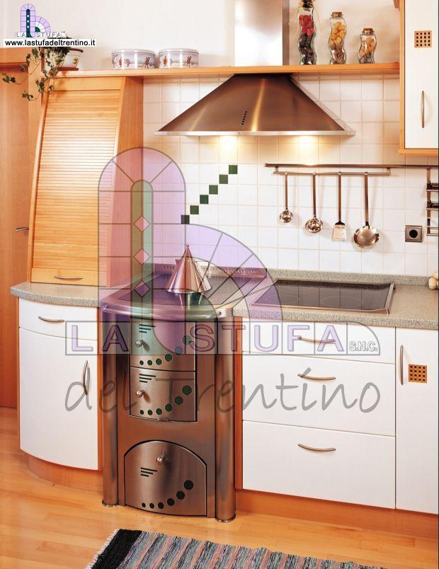88 cucina a legna stufa del trentino - Stufe a legna cucina ...