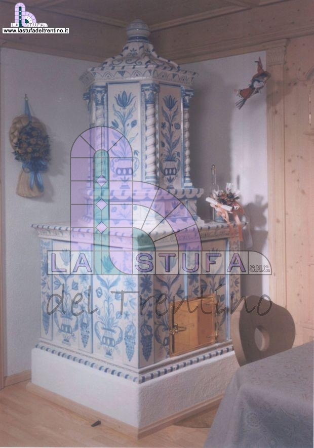 Castel tirolo stufa del trentino - Stufe in maiolica stube ...