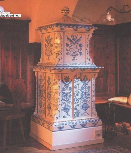 Romedio blu stufa del trentino - Stufe a legna vecchie ...